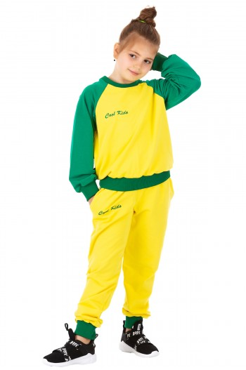 Trening Cool Kido Yellow/Green